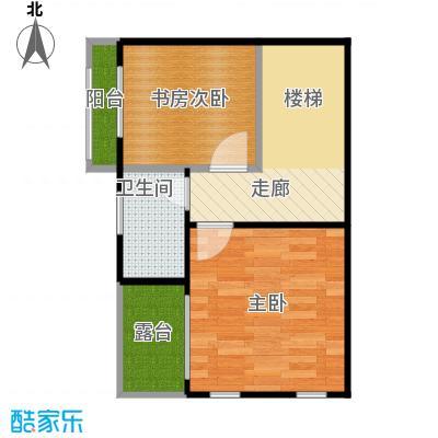 戴斯大卫营40.14㎡(已售完)B栋下坡双花园双露台一阳台三层户型10室