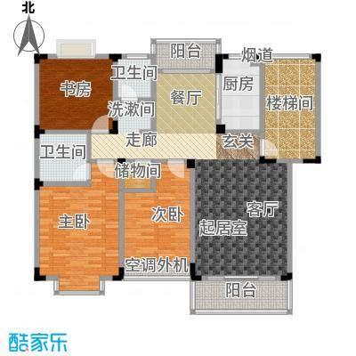 洪都花园洪都花园户型图三房-136㎡(1/9张)户型10室