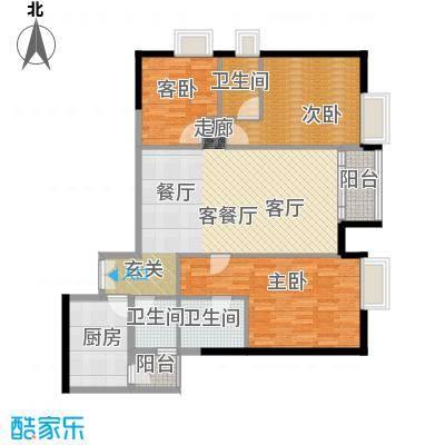 富力公园28宽敞户型3室1厅3卫1厨