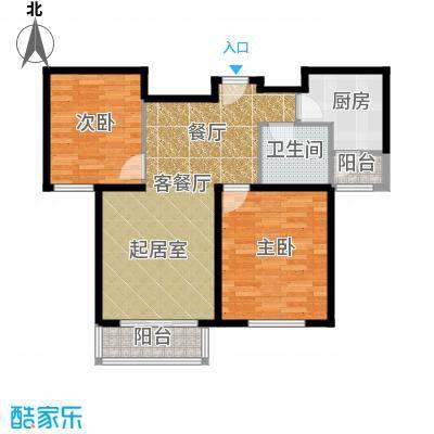清谷70.54㎡户型10室
