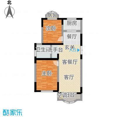 华通和平海岸二期华通和平海岸二期户型图2室2厅(2/9张)户型10室