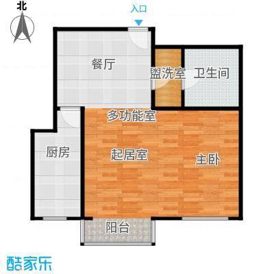 清谷58.20㎡户型10室