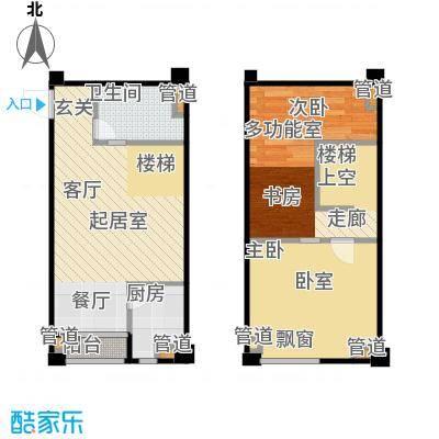 立方寓59.00㎡立方寓户型图C-b户型(3/7张)户型10室