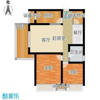 曲江紫汀苑2-E户型图户型