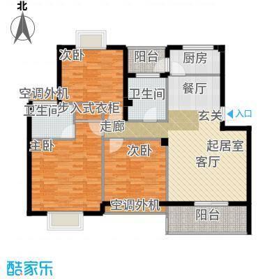 盛世又一村盛世又一村户型图三房两厅一卫(1/11张)户型10室