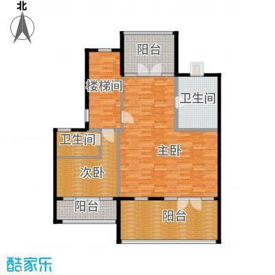 碧桂园滨海城112.56㎡G181二层户型10室
