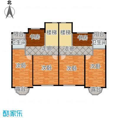 荔城碧桂园双拼别墅H32-c三层户型4室2卫