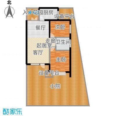 永泰枕流GOLF公寓90.87㎡CY 2室2厅1卫户型