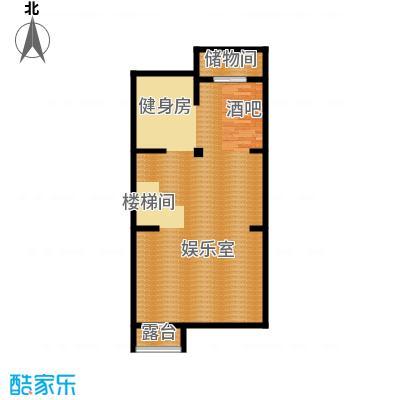 首创国际半岛284.00㎡H2-n地下一层户型10室