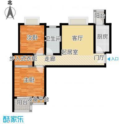 东城新一家79.93㎡A/B户型3室2厅1卫户型3室2厅1卫