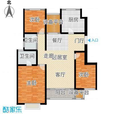 吉宝季景兰庭131.00㎡3B2-L 2-01户型3室2厅2卫