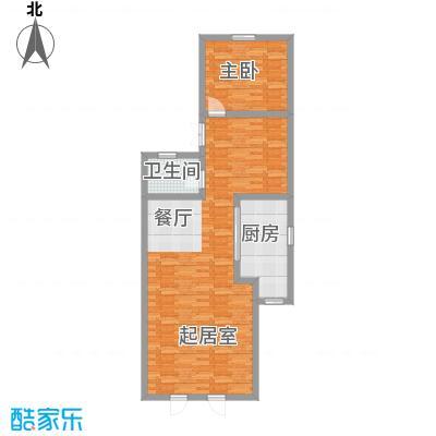 贻成水木清华82.97㎡别墅三期TH2一层户型10室