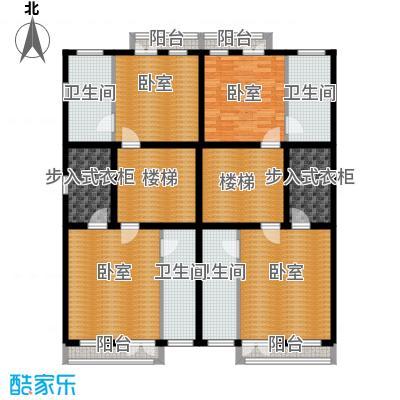 渤海度假村157.21㎡TH3-S二层户型10室