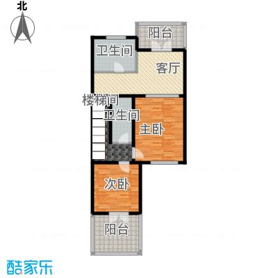 龙湖・香醍溪岸洋房278.00㎡NS-S二层户型10室