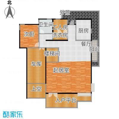 龙顺御墅307.00㎡A1一层平面图户型10室