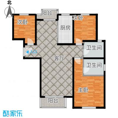清谷104.62㎡户型10室