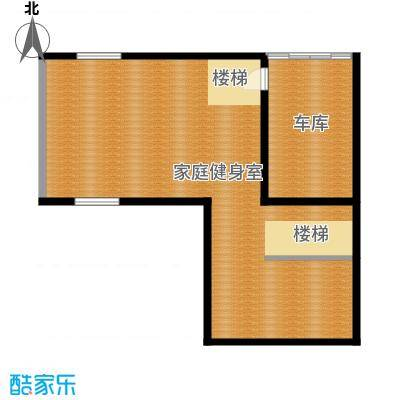 联发滨海琴墅92.00㎡别墅L1地下室户型1室1厅