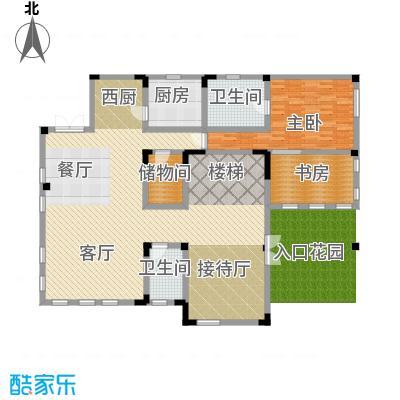弘泽制造159.35㎡V3一层户型10室