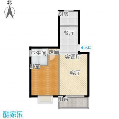 凤华名邸76.04㎡C户型10室