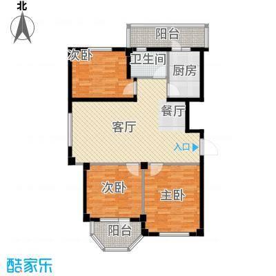 中信润泽园121.00㎡B3户型10室