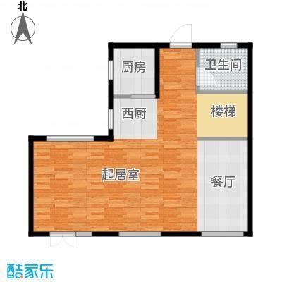 首创玲珑墅165.00㎡Ec1层户型10室
