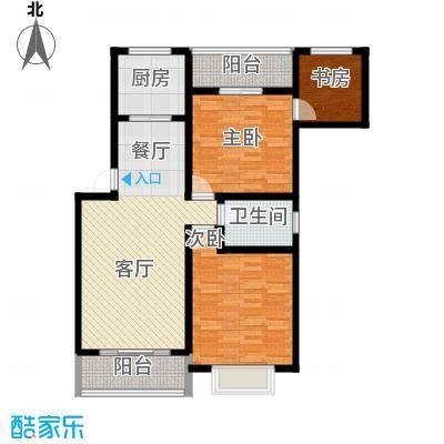 凤华名邸103.29㎡D户型10室