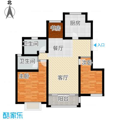 吉宝季景兰庭98.68㎡户型10室