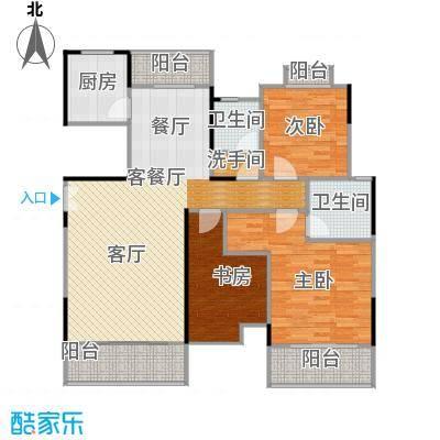 联泰香域滨江131.90㎡尚品B1户型10室