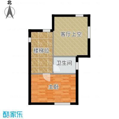 悠然墅98.21㎡18-A2二层户型10室