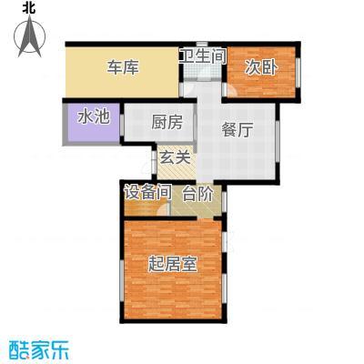 贻成水木清华113.84㎡别墅三期TH6一层户型10室