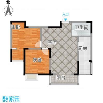 香港城71.15㎡户型10室