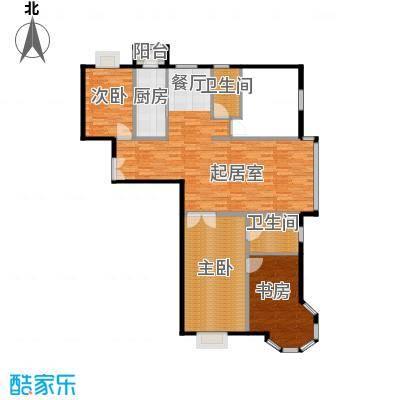 国信浅山131.57㎡C1户型10室