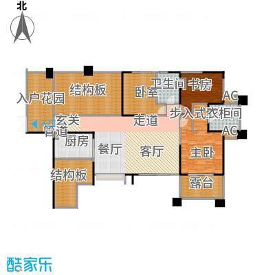 长城半岛城邦111.00㎡长城半岛城邦户型图B2偶数层(9/17张)户型10室