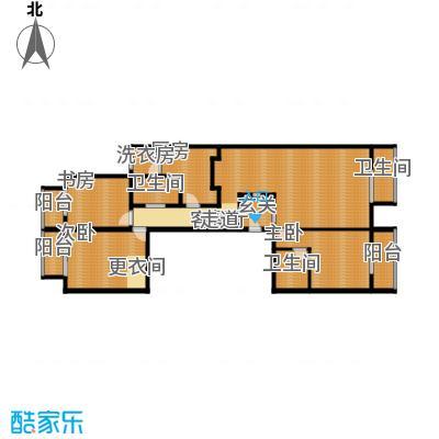 奥东18号182.21㎡F户型3室1厅3卫1厨