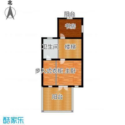 贻成水木清华88.72㎡别墅三期TH2二层户型10室