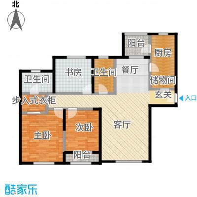 仁恒海河广场140.00㎡3号楼A户型10室