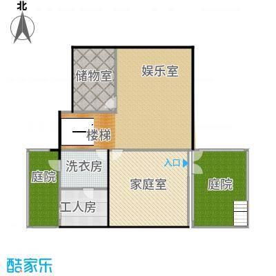 艾维诺森林135.87㎡独栋G地下一层户型3室2厅