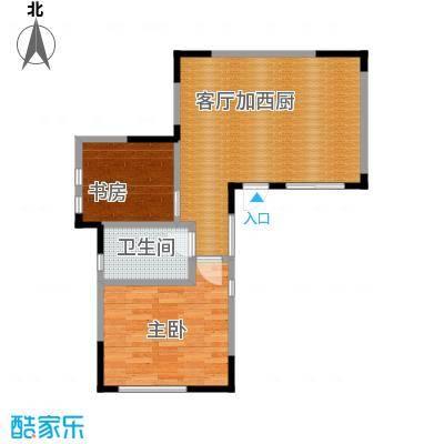 悠然墅62.36㎡山地叠院首层户型10室