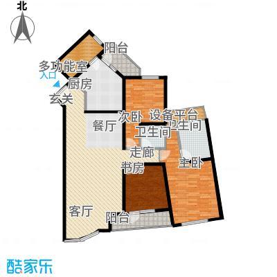 仁恒海河广场133.31㎡1号楼D-3户型10室