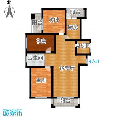 新发翡翠花溪110.69㎡户型10室