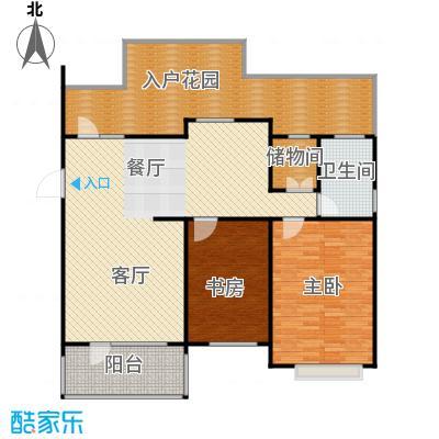 新发翡翠花溪107.00㎡洋房户型2室2厅1卫