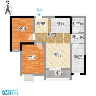 中海城60.40㎡户型10室