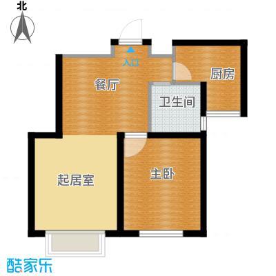 清谷57.00㎡户型10室