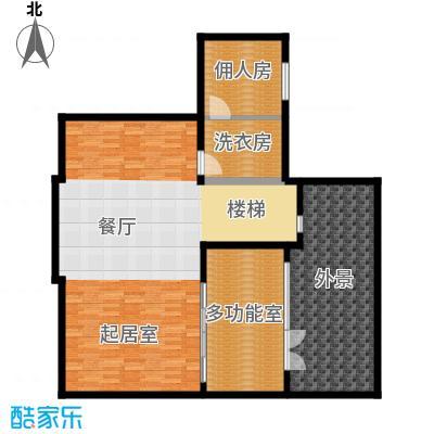 艾维诺森林130.80㎡独栋K地下一层户型3室2厅
