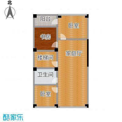 弘泽制造96.20㎡T2-5二层户型10室