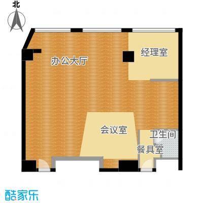 中惠熙元广场102.19㎡46/47/48号房SOHO户型10室
