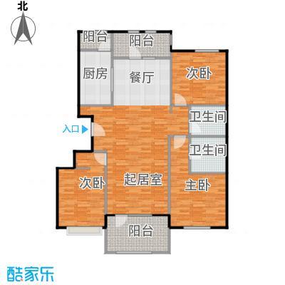 龙湖・香醍溪岸洋房122.23㎡龙湖・香醍溪苑户型10室