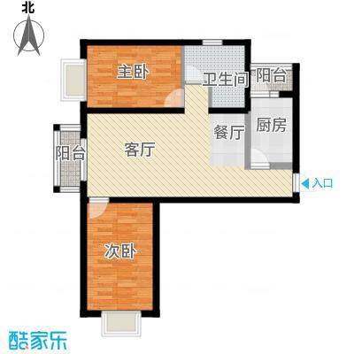 瑞雪春堂90.37㎡B8户型10室