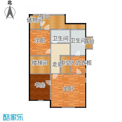 贻成水木清华122.11㎡别墅三期TH5二层户型10室