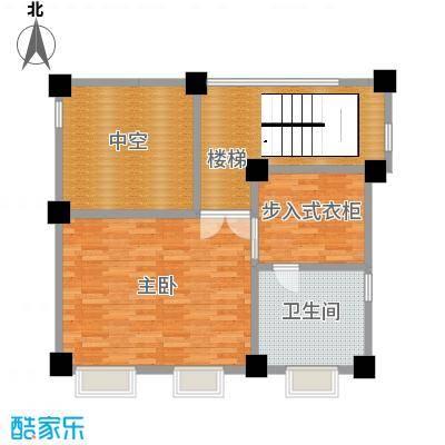 艾维诺森林78.88㎡独栋K三层户型2室1卫